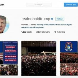 اینستاگرام حسابهای ضد ترامپ را مسدود میکند