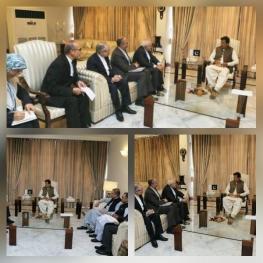 اسلام آباد – دیدار ظریف با عمران خان نخست وزیر پاکستان