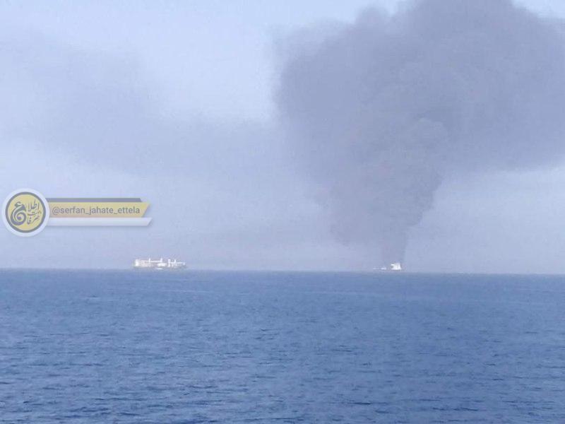 ۴۴ ملوان نفتکش های حادثه دیده در جاسک هستند