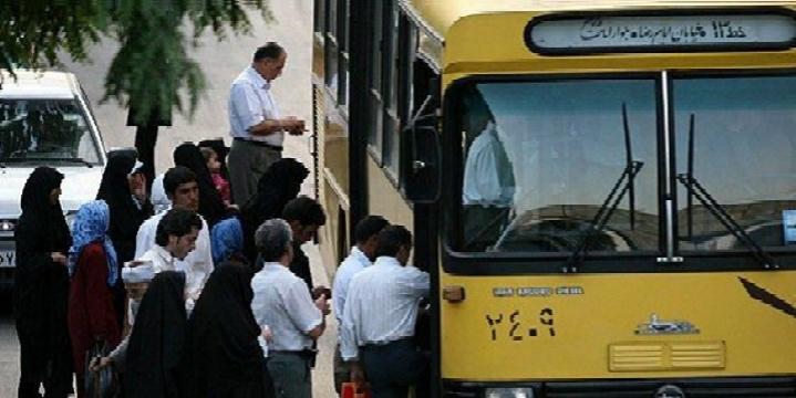 توقف فعالیت راننده اتوبوس به علت ممانعت از سوار شدن یک کارگر
