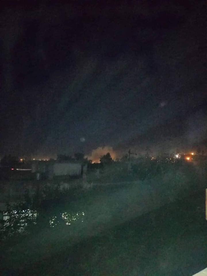 فرود دستکم یک فروند موشک کاتیوشا در داخل مجتمع کاخهای ریاستجمهوری در بخش شرقی موصل