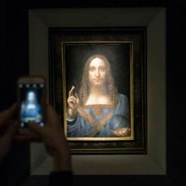 خریدار گرانترین نقاشی جهان که به صورت ناشناس این تابلو را به مبلغ ۴۵۰ میلیون دلار خریداری کرده بود مشخص شد