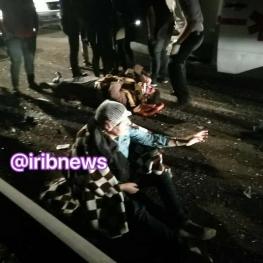 ۲ کشته و بیش از ۲۰ زخمی در واژگونی اتوبوس
