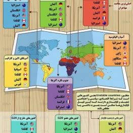مهاجران اقتصادی و شغلی به کدام کشورها تمایل دارند؟