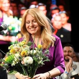 نخستین رئیس جمهوری زن در اسلواکی سوگند یاد کرد