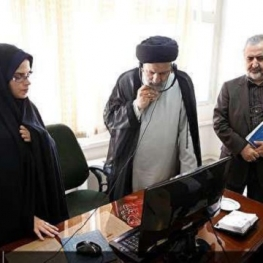 رئیس قوه قضائیه سرزده از مرکز ارتباطات مردمی قوه قضائیه (۱۲۹) بازدید کرد