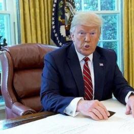 ترامپ: ایران دیگر شعار مرگ بر آمریکا سر نمیدهد