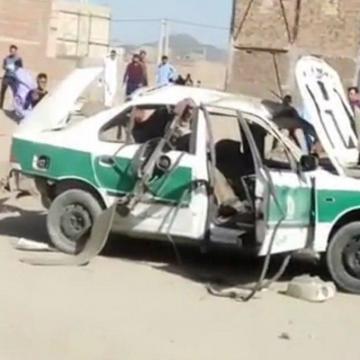 حادثه برای ماموران انتظامی زاهدان