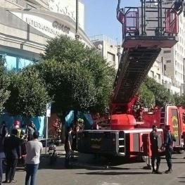 آتش سوزی در هتل قصر مشهد