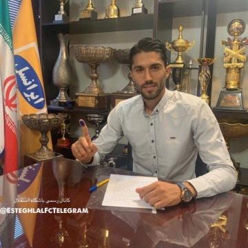 سید حسین حسینی قرارداد خود را به مدت دو فصل تمدید کرد