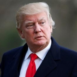 ترامپ در پاسخ به خبرنگاران در مورد ادعای سرنگون کردن پهپاد ایرانی