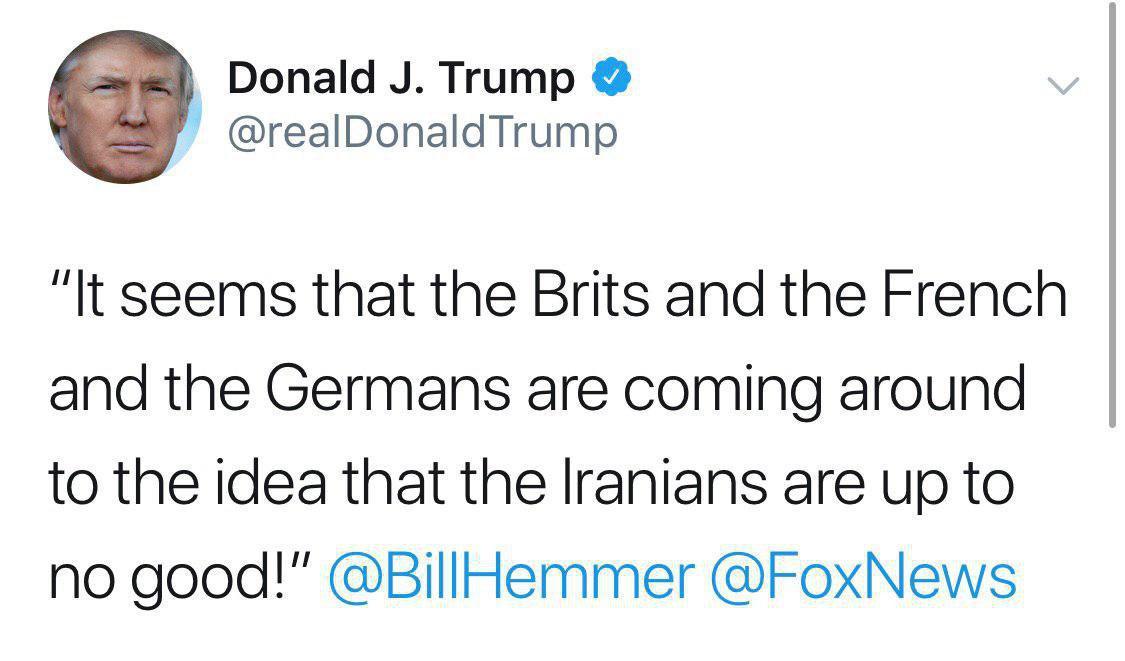 ترامپ در تازهترین توییت ضد ایرانی