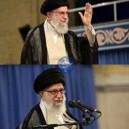 دو عینک متفاوت رهبر معظم انقلاب در یک قاب