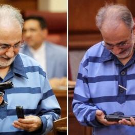 امروز، قاضی کشکولی از آقای نجفی خواست از میان ۳ سلاح آورده شده به جلسه دادگاه، اسلحه متعلق به خود را شناسایی کند