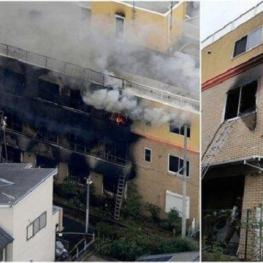 ۲۳ کشته در حمله به استودیو انیمیشن در ژاپن