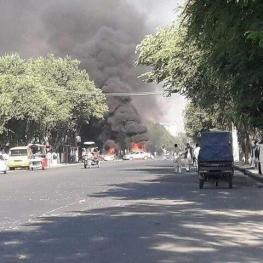 نوزده کشته و زخمی در انفجار امروز کابل