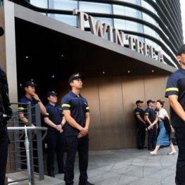 خودسوزی مرد کرهای مقابل سفارت ژاپن