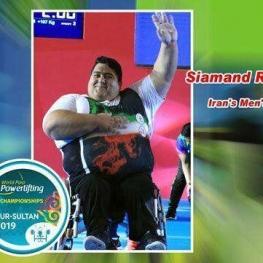 قهرمانی و نایب قهرمانی وزنهبرداران معلول در مسابقات جهانی