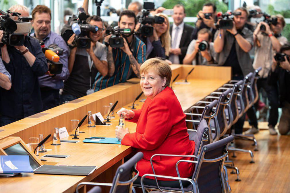 """نشست خبری سالانه """"آنگلا مرکل"""" صدراعظم آلمان در برلین"""