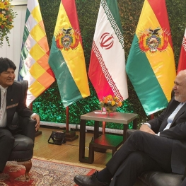 محمد جواد ظریف  با آقای اوو مورالس، رئیس جمهور بولیوی دیدار و گفتوگو کرد.