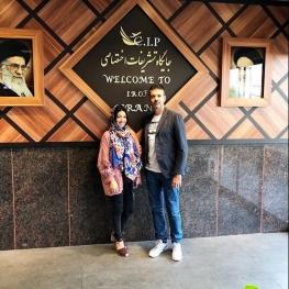 همسر و فرزندان سرمربی استقلال وارد تهران شدند