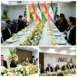 دیدار و گفت و گوی ظریف با همتای بولیویایی