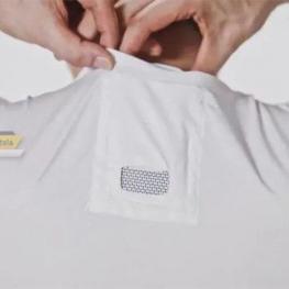 بهزودی کولرگازی شخصی سونی روی تیشرت شما نصب میشود تا سر و گردنتان همیشه خنک باشند