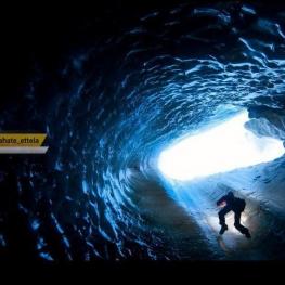 عکس روز به انتخاب نشنال جئوگرافیک: غار یخی؛ نروژ