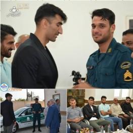 عذرخواهی دروازهبان پرسپولیس از مأمور ناجا در بوشهر