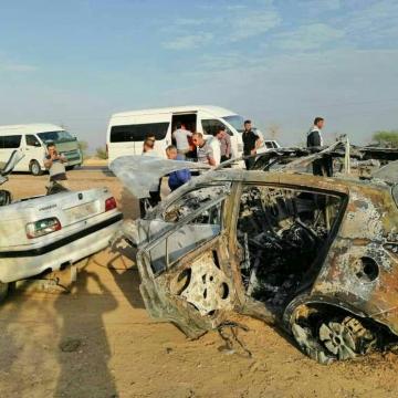 تصادف در جاده اهواز خرمشهر ۷ کشته برجا گذاشت