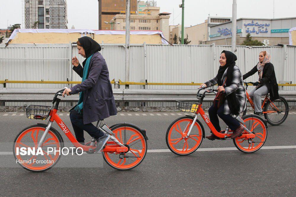 حناچی: تقاضا برای دوچرخهسواری در تهران رو به افزایش است