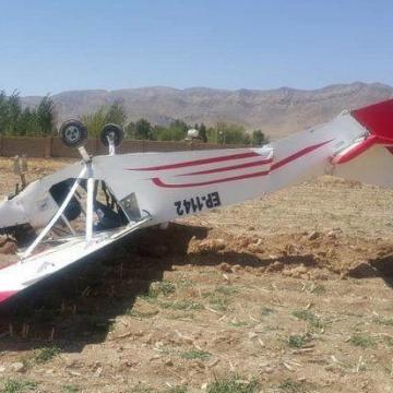 مرگ ۲ سرنشین هواپیما آموزشی سقوط کرده در گرمسار