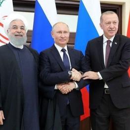 نشست سه جانبه ایران، روسیه و ترکیه، ۲۰ شهریور
