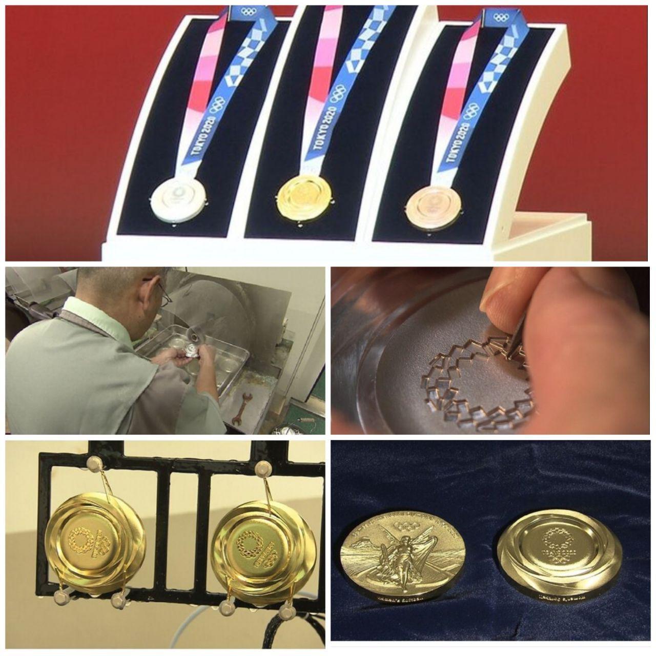 پشت صحنه ساخت مدالهای المپیک توکیو