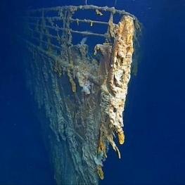 کشتی معروف تایتانیک زودتر از حد انتظار، در حال خراب شدن و نابودی است