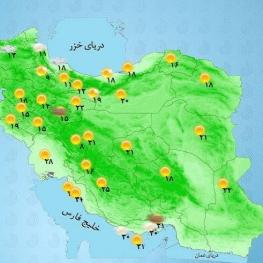 امروز و فردا دریای خزر و مرکز خلیج فارس مواج است.
