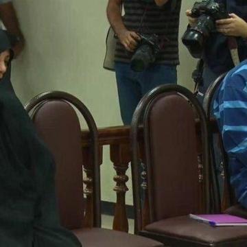 تصویر: شبنم نعمت زاده در دادگاه