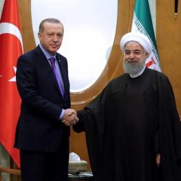 روحانی با اردوغان دیدار کرد