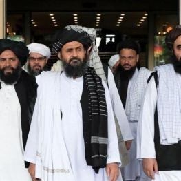 هیات سیاسی طالبان به تهران سفر کرد