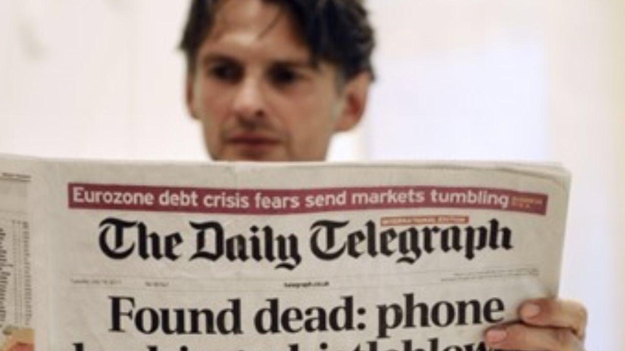 روزنامه دیلی تلگراف در آستانه فروش