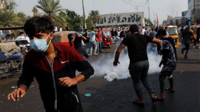 اعلام حکومت نظامی در بغداد