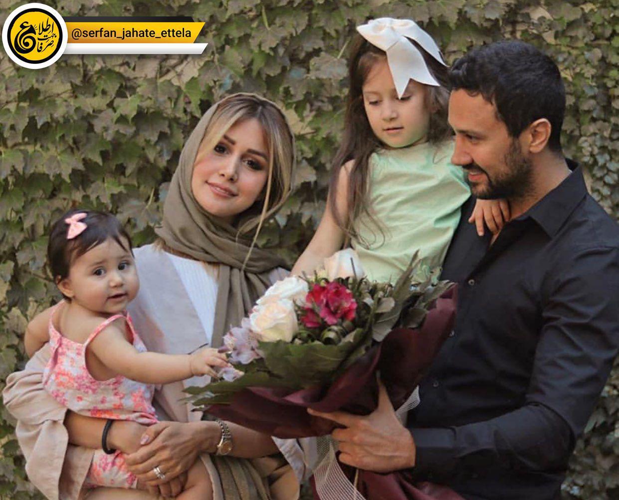 #اینستاگرام_گردی :شاهرخ استخری در کنار همسر و فرزندانش