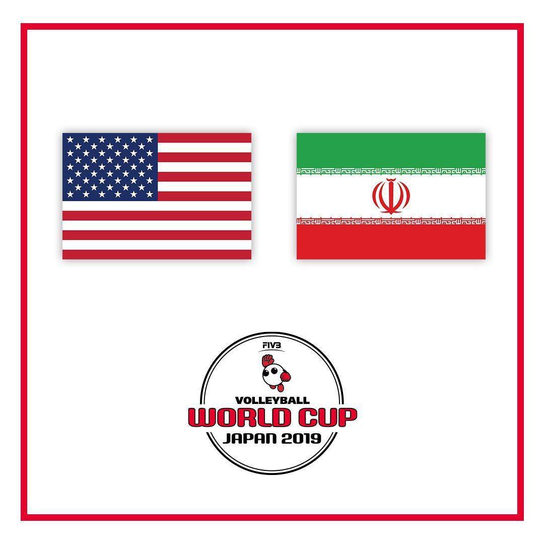 نمایش ضعیف ایران برابر آمریکا