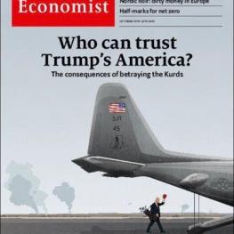 عکسروی جلد اکونومیست: در نتیجهی خیانت به کردهای شمال سوریه