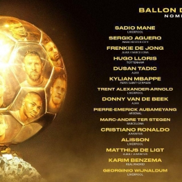 لیست کامل نامزد های توپ طلا ۲۰۱۹