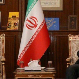 دیدار فرستاده ویژه چین در امور خاور میانه با ظریف