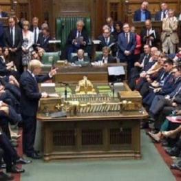 کلیات توافق دولت انگلیس با اتحادیه اروپا در مجلس عوام رای آورد