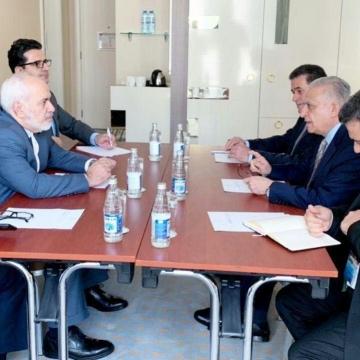 دیدار وزیران امور خارجه ایران و عراق در باکو