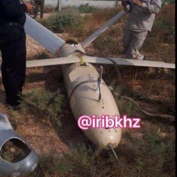 یک پهپاد ناشناس در بخش شعیبیه شوشتر خوزستان سقوط کرد