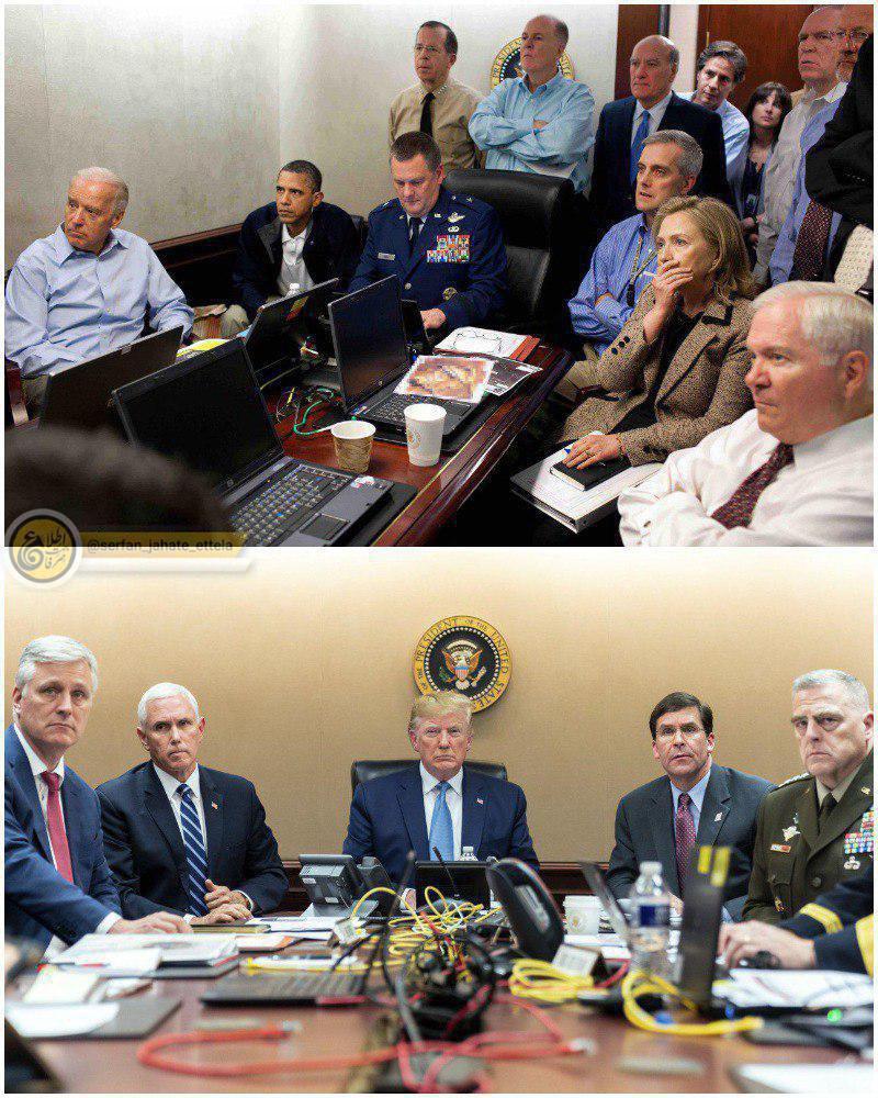 اوباما و ترامپ؛ دو رئیس جمهور در حال تماشای مرگ رهبران القاعده و داعش